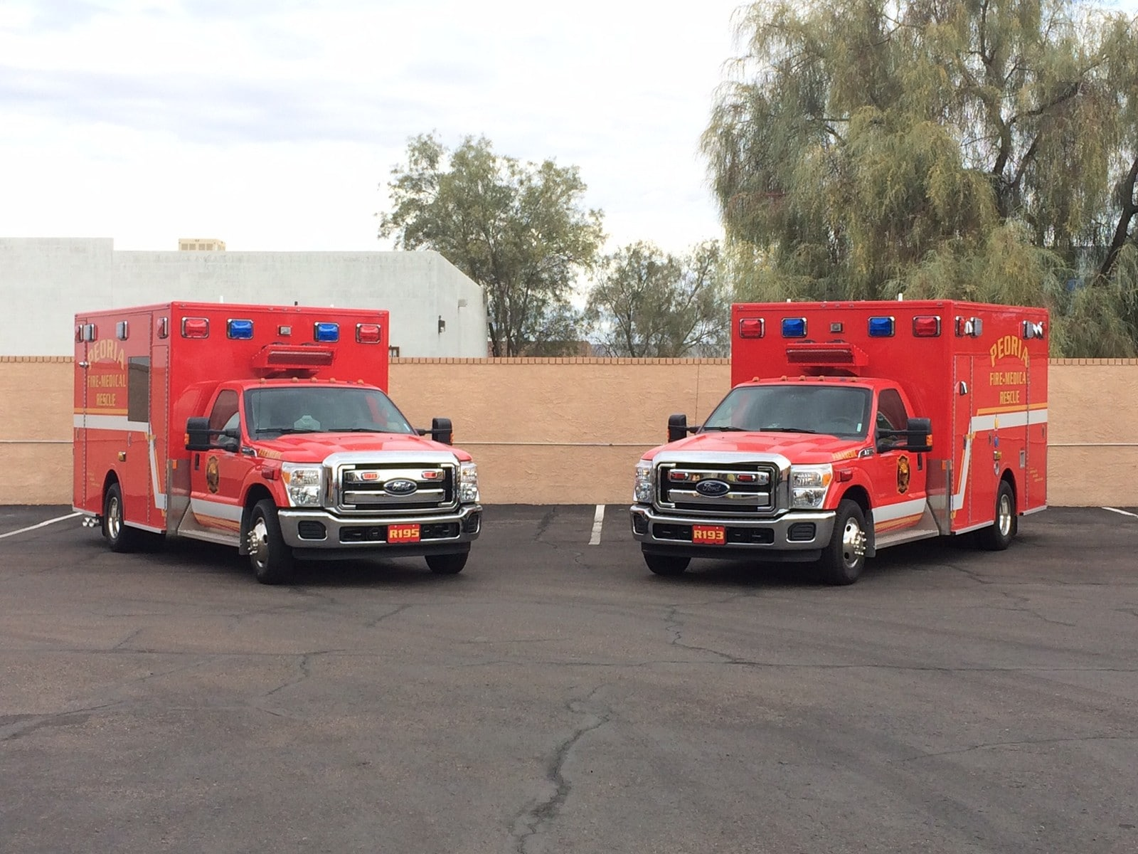 Peoria Fire-Medical Department Demers MXP150 Ambulances