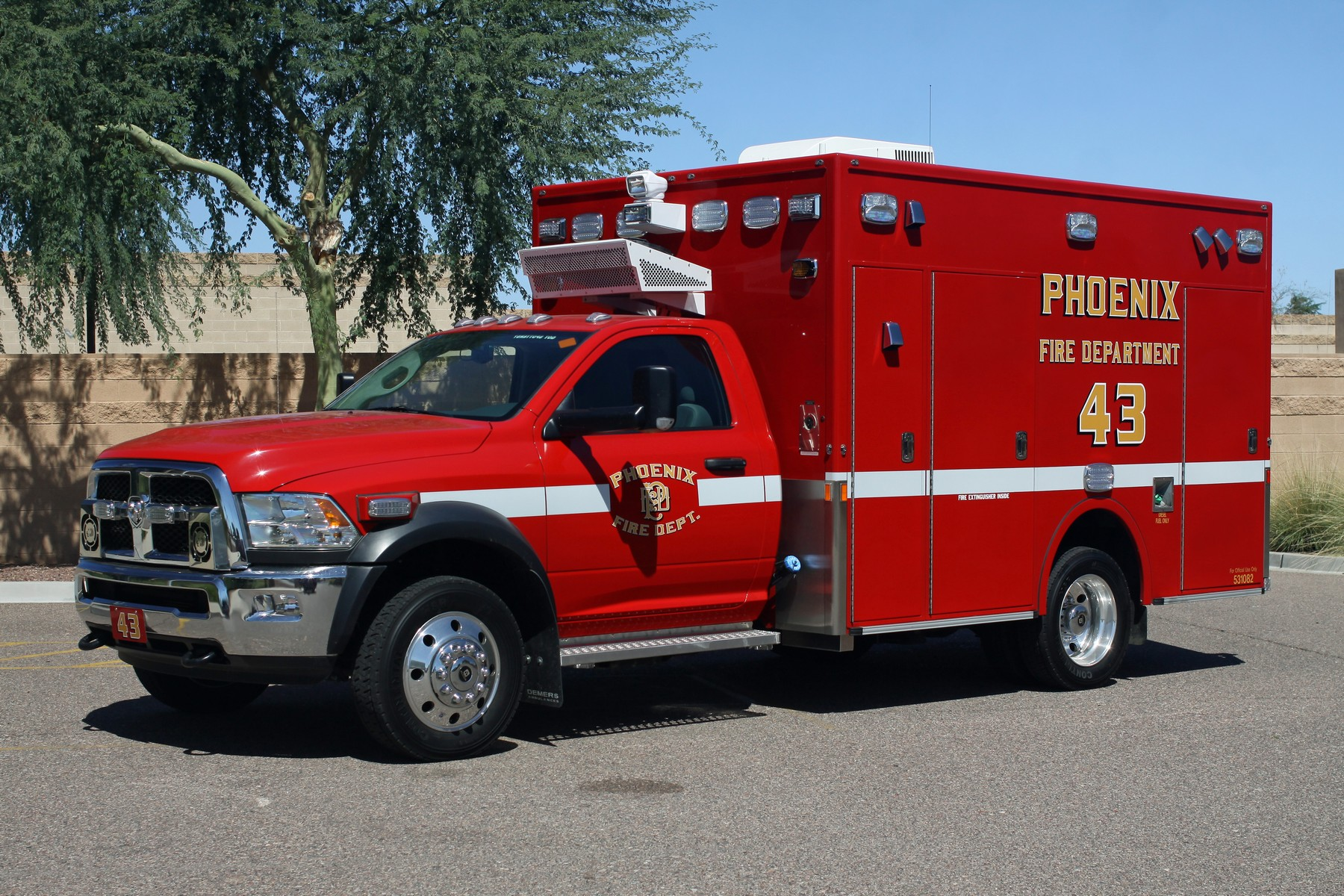 Phoenix FD Demers MXP Ambulances (15)