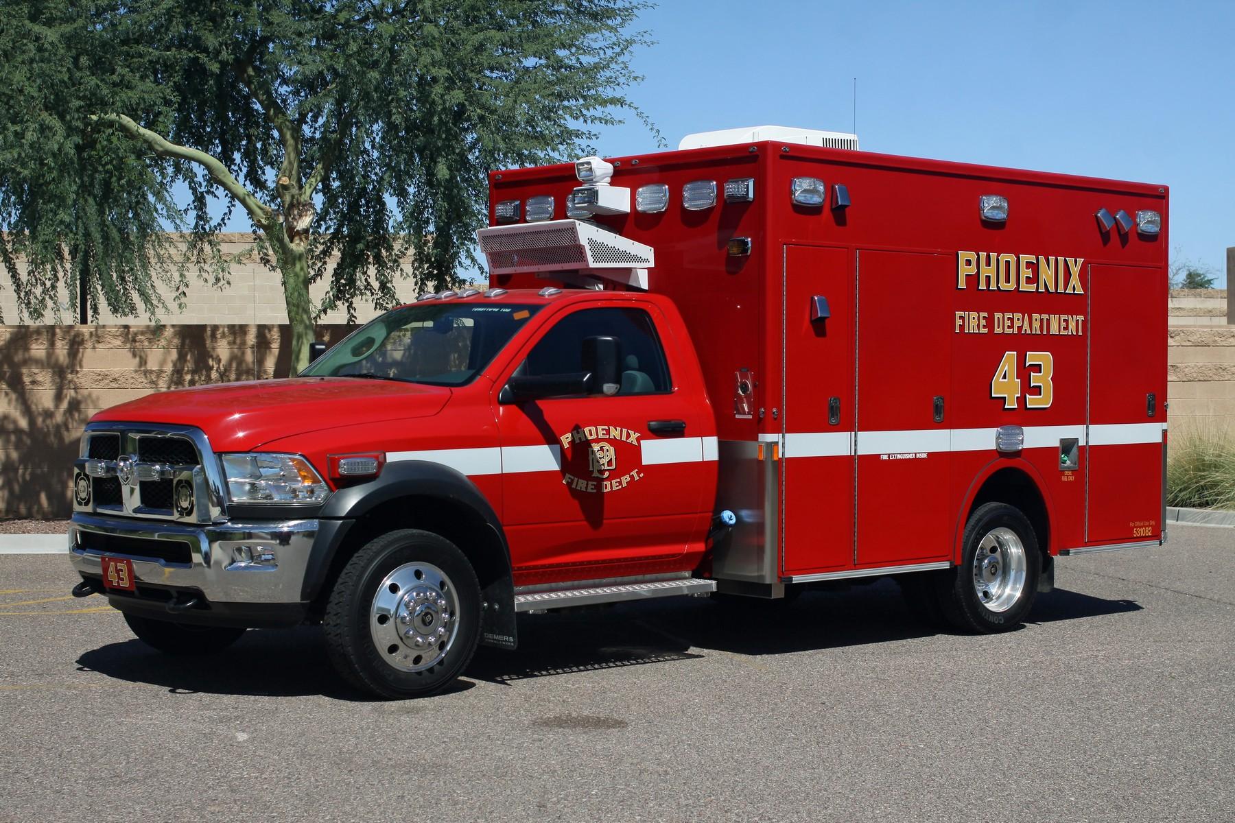 Phoenix FD Demers MXP Ambulances (15)