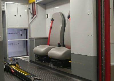 Phoenix Demers MXP150 Ambulance - seating - IMG_8491 - web