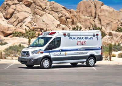 Morongo Basin EMS' Demers Type II (curbside)