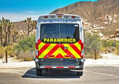 Morongo Basin EMS' Demers Type II (rear view)