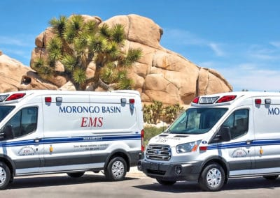 Morongo Basin EMS' Demers TSEs